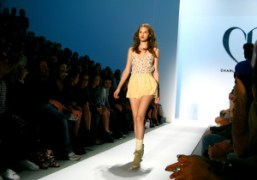 A look from the Charlotte Ronson S/S 2011 show, New York. Photo…