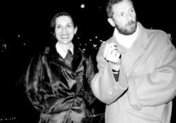 Louise Neri and Stefano Pilati, New York. Photo Olivier Zahm