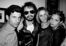 André Saraiva, Olivier Zahm, Alexandra, and Annabelle Dexter-Jones at the Dexter-Jones/Ronson Thanksgiving…