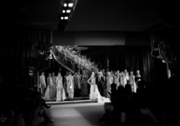 The finale at the Chanel S/S 2011 Haute Couture show (with a…