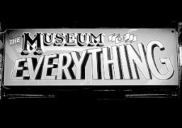 A sign at The Museum of Everything, London. Exhibition #3, co-curated by…