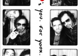 Alexis Dahan and Olivier Zahm at the Waris loves you Photomaton, New…