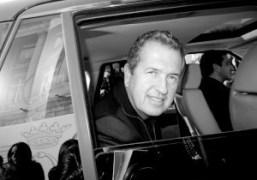 Mario Testino outside the Hotel de Crillon after the Balenciaga F/W 2011…