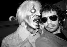 Olivier Zahm and a dead friend at New York Costumes, New York….
