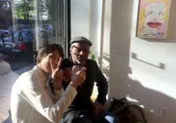 Ryan McGinley with Jack Walls at his Half gallery opening. Mona Lisa…