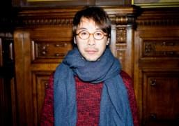 Jun Takahashi after his Undercover F/W 2013 show, Paris. Photo Skylar Williams