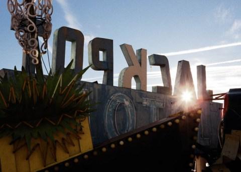 The Las Vegas Neon Sign Mausoleum