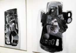 """Richard Prince's artworks at the """"Unrealism"""" exhibition presented by Jeffrey Deitch and..."""