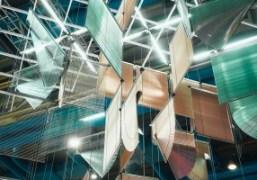 """Haegue Yang """"Lingering Nous"""" Installation at Centre Pompidou, Paris"""