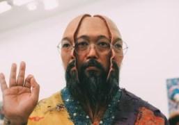 "Takashi Murakami ""Learning the Magic of Painting"" Exhibition at Galerie Perrotin, Paris"