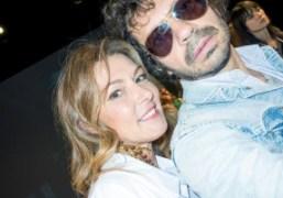 Olivier Zahm and Erika Cavallini at Erika Cavallini's S/S 2017 presentation, Milan