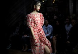 Simone Rocha S/S show at Southwark Cathedral, London