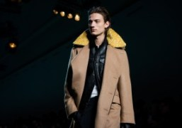 Haider Ackermann's debut collection for Berluti Men's F/W 2017 at Grand Palais,...