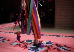A candy coated debut from the Vivetta F/W 2017 show, Milan