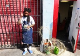 An interview and studio visit with Los Angeles-based artist Devin Troy Strother
