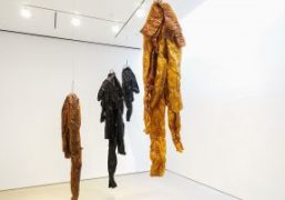 """""""Helmut Lang: new work"""" exhibition at Sperone Westwater Gallery, New York"""