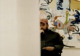 An interview with artist Eddie Martinez on his latest show 'Cowboy Town'...