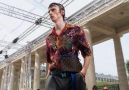 Louis Vuitton Men's S/S 2018 show at Domaine du Palais Royal, Paris