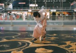 """""""Our Labyrinth"""" A performance by Lee Mingwei for """"MOVE"""" annual events at..."""