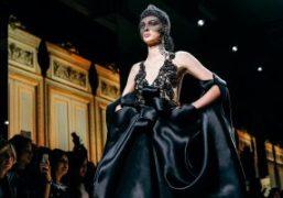 Giorgio Armani Privé Haute Couture F/W 2017 show at Palais de Chaillot,...