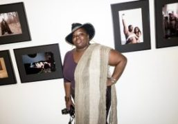 (self) group exhibition opening at Douglas F. Cooley Memorial Art Gallery, Reed...