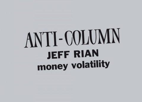 Money volatility