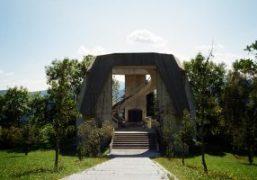 A visit to the war Memorial of Dražgoše, Slovenia