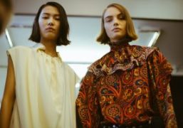 JW Anderson F/W 2018 backstage at Yeomanry House, London