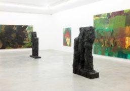 Per Kirkeby exhibition at Almine Rech Gallery, Paris