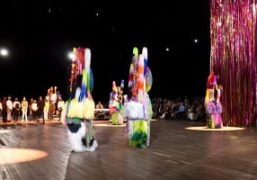 """Nick Cave """"The Let Go"""" installation-performance at Park Avenue Armory, New York"""