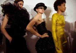 Alexandre Vauthier Haute Couture F/W 2018 backstage at Musée des Arts Décoratifs,...