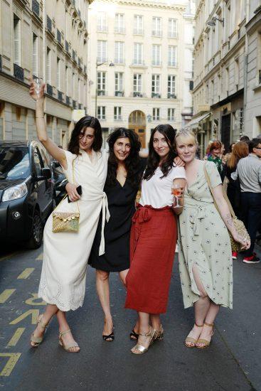 Yasmine Eslami Swim & Resort collection celebration at Café Télescope, Paris