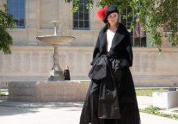"""Sonia Rykiel Haute Couture F/W 2018 """"L'Atelier"""" at École nationale supérieure des..."""