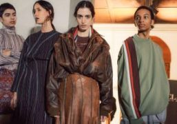 y/project F/W 2019 backstage at Pitti Uomo 95, Florence