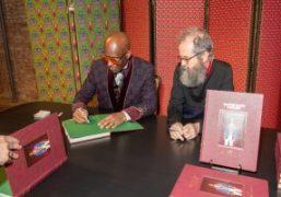 """""""Dapper Dan's Harlem"""" Book Signing with Dapper Dan and Ari Marcopoulos at..."""