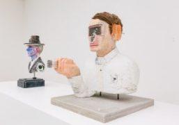 """David Altmejd's """"The Vibrating Man"""" Exhibition at White Cube, Hong Kong"""