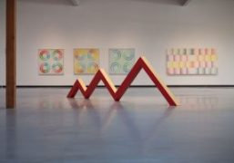 Judy Chicago's Exhibition at the Jeffrey Deitch Gallery, Los Angeles