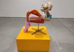 "Sarah Lucas ""Honey Pie"" Exhibition at Sadie Coles HQ, London"