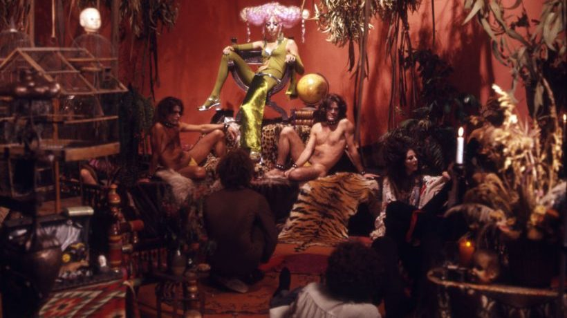 """PURPLE PARADISO:  """"LUMINOUS PROCURESS"""" by Steven Arnold, 1972, Your Movie Of The Day Curated And Reviewed By Savannah Nolan and Olivier Zahm"""