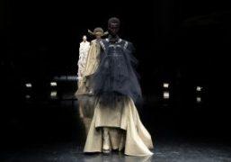 Jean Paul Gaultier Couture F/W 2021 by Sacai at JPG HQ, Paris