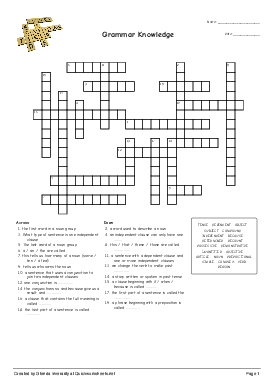 Biology 118 Respiratory System Crossword Puzzle Answer Key