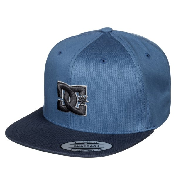 Men39s Snappy Snapback Hat 888327614526 DC Shoes
