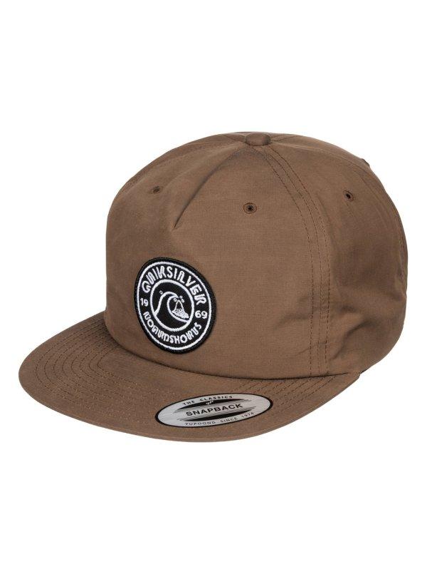 Bragnet Snapback Hat Aqyha03547 Quiksilver