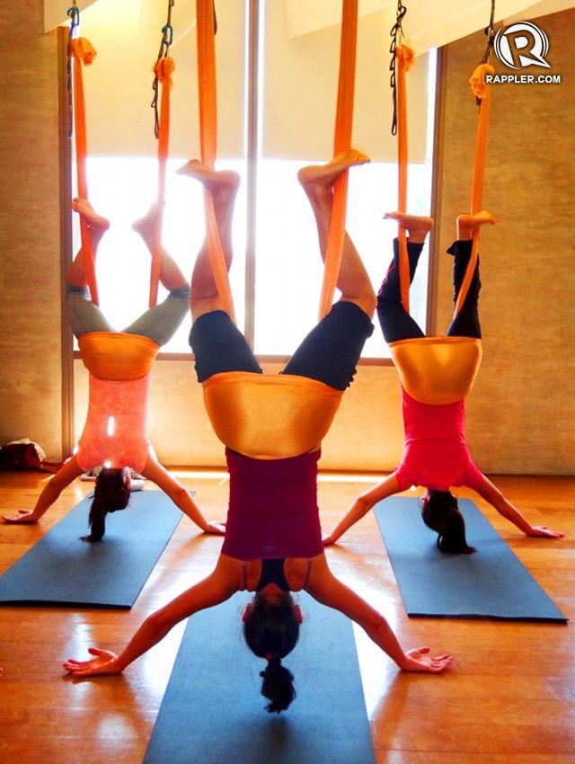 antigravity yoga defying gravity