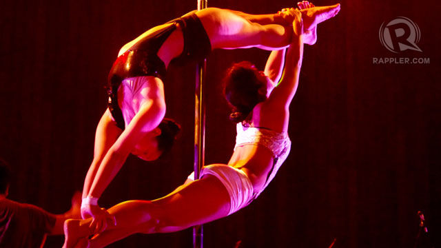 DO YOU DARE? Unleash your inner sexy with a pole dance class. No boys allowed — to watch. Photo by James Oliver