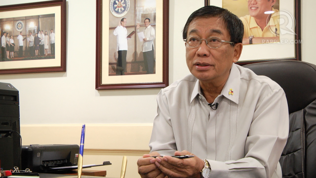 CLARIFICATION. Health Secretary Enrique Ona writes to a newspaper that his published speech is not the final word on stem cell therapy regulation. File photo by Rappler/Naoki Mengua