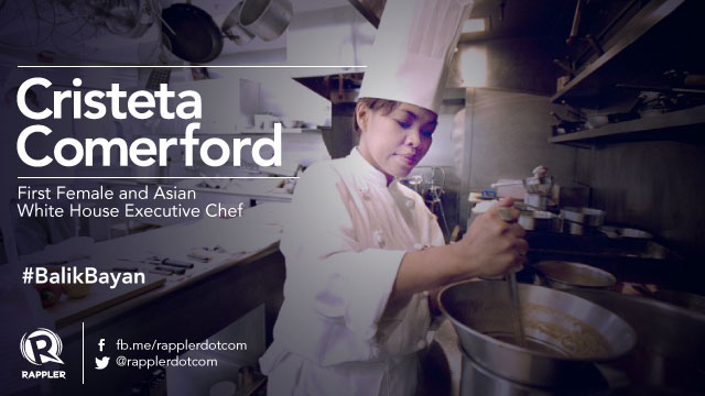 1st female White House executive chef comes home to UP