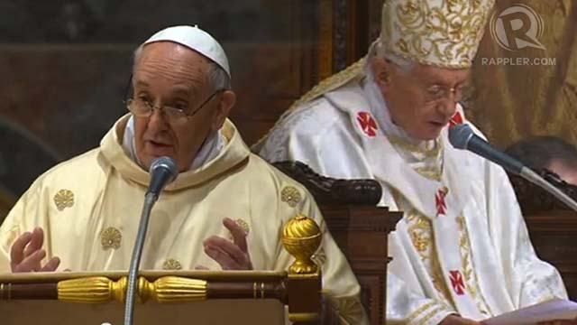 DIFFERENT STYLES Pope Francis Delivers His Unscripted