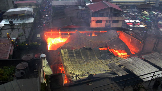 high chair philippines fishing best price university of baguio building burns; 2 injured