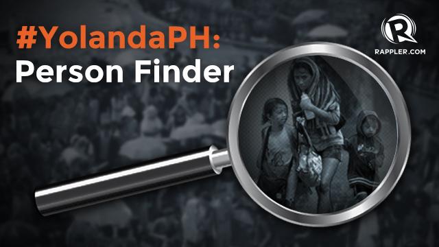 yolandaph person finder looking